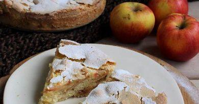 Лесен ябълков сладкиш