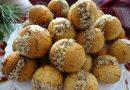 Меденки с пълнеж и орехи